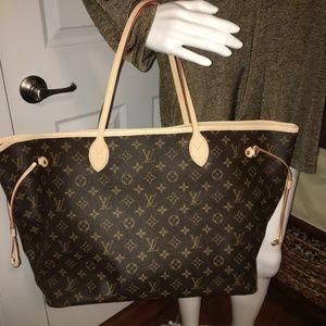 Louis Vuitton Neverfull GM Pivoine Tote Bag